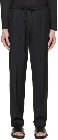3.1 Phillip Lim Navy Drawstring Trousers