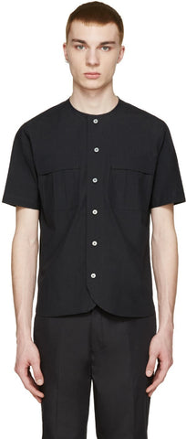 08sircus Black Vintage Typewriter Shirt