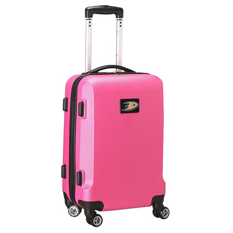 Anaheim Mighty Ducks 19.5-inch Hardside Spinner Carry-On, Pink