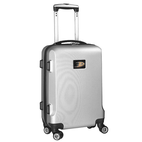 Anaheim Mighty Ducks 19.5-inch Hardside Spinner Carry-On, Silver