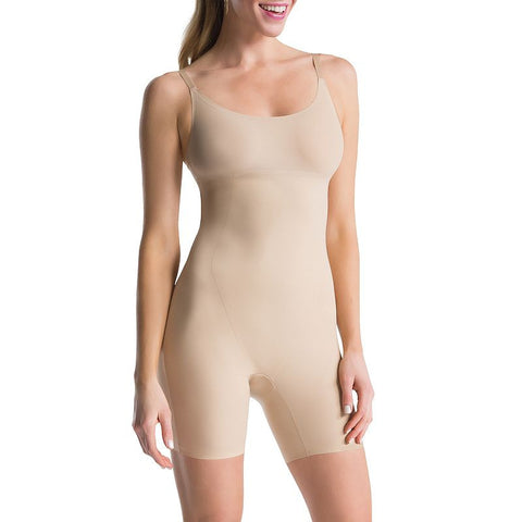Assets Red Hot Label by Spanx Clever Controllers Mid-Thigh Body Shaper SS3515 - Women's Very Bare