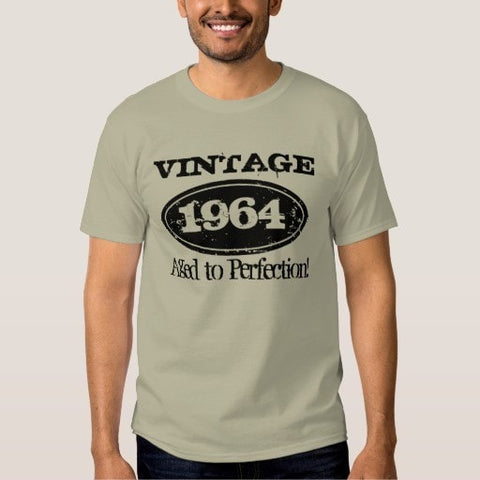 1964 Aged to perfection Vintage Birthday t shirt
