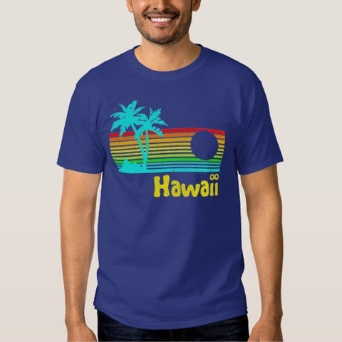 1980s Vintage Retro Hawaii Tee Shirt