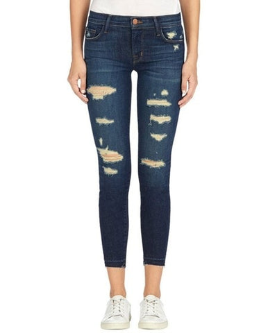 9326 Cropped Skinny Jean in Demented Trouble