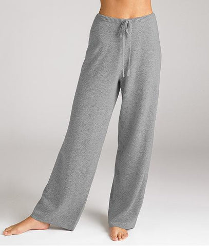 Arlotta Large Flannel Grey Cashmere Lounge Pants