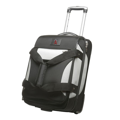 Anaheim Angels 22-inch Wheeled Drop-Bottom Carry-On, Black