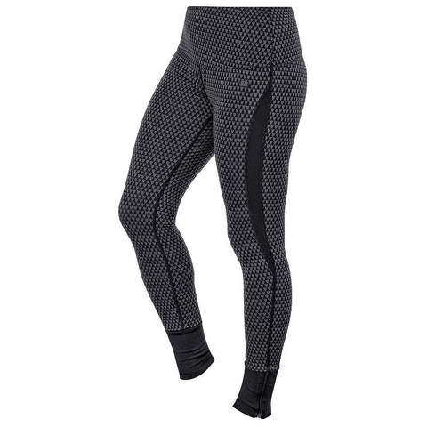 ASICS Fit-Sana Jacquard Workout Tights - Women's Black