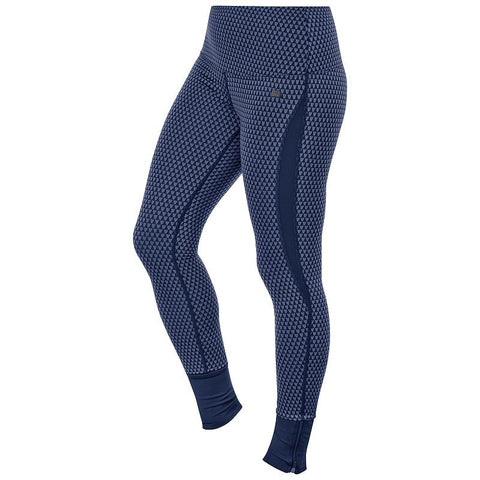 ASICS Fit-Sana Jacquard Workout Tights - Women's Indigo Blue
