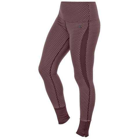 ASICS Fit-Sana Jacquard Workout Tights - Women's Port Royal