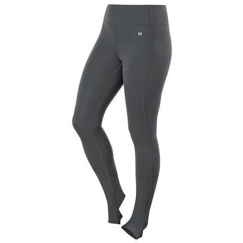 ASICS Fit-Sana Barre Stirrup Tights - Women's Dark Gray