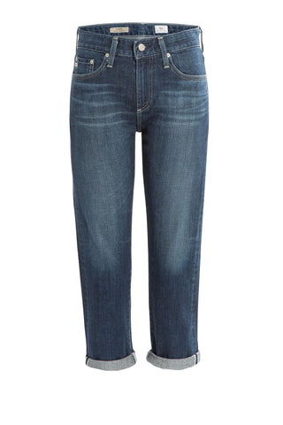 AG Adriano Goldschmied Drew High-Waisted Jeans - blue