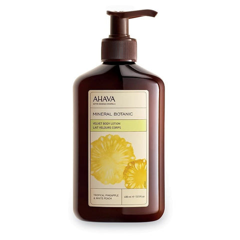 Ahava Mineral Botanic Tropical Pineapple & White Peach Body Lotion, Pineapple Peach