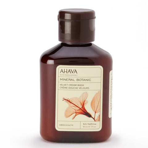 Ahava Mineral Botanic Hibiscus & Fig Cream Body Lotion - Travel Size, Hibiscus Fig, Skin Care
