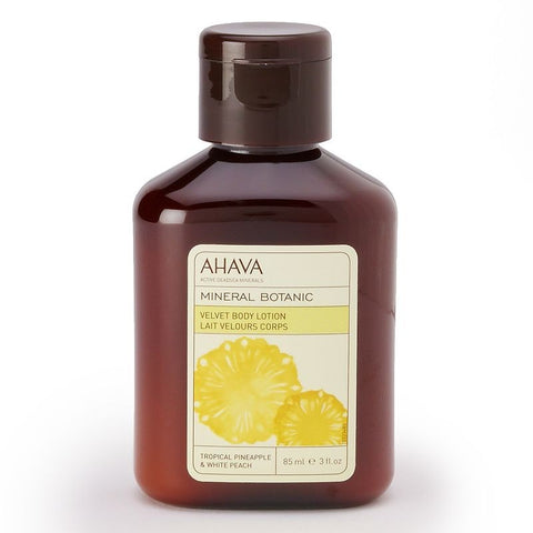 Ahava Mineral Botanic Tropical Pineapple & White Peach Cream Body Lotion - Travel Size, Multi/None