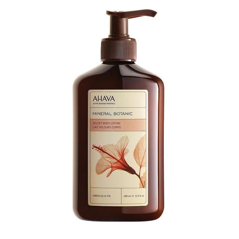 Ahava Mineral Botanic Hibiscus & Fig Velvet Body Lotion, Hibiscus And Fig, Skin Care