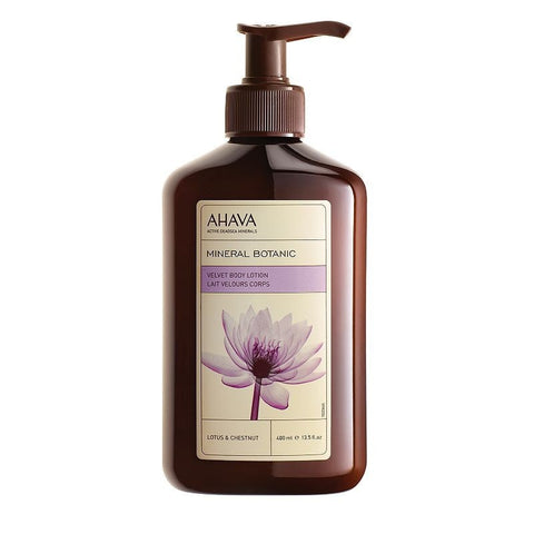 Ahava Mineral Botanic Lotus & Chestnut Body Lotion, Lotus Chestnut, Skin Care
