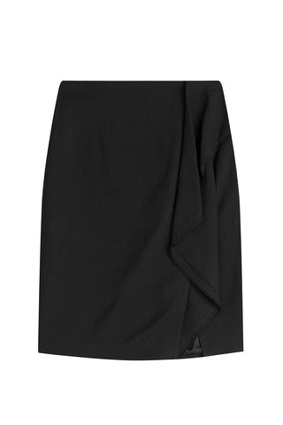 3.1 Phillip Lim Wool Skirt - black