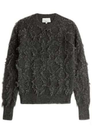 3.1 Phillip Lim Pullover with Mohair and Wool - grey