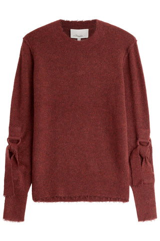 3.1 Phillip Lim Wool-Blend Pullover - red