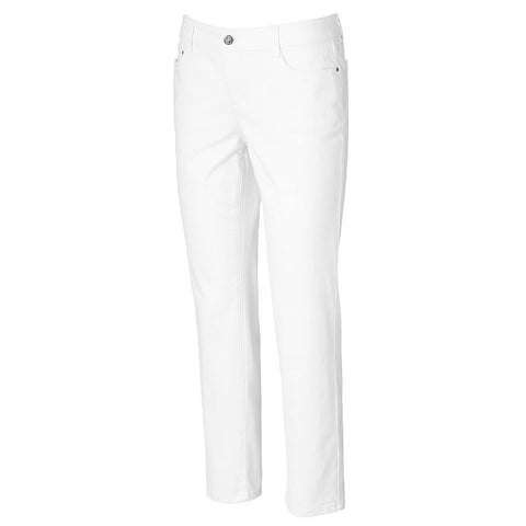 Petite Croft & Barrow® Classic Fit Straight Leg Jeans Women's New White