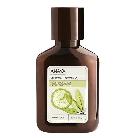 Ahava Mineral Botanic Lemon & Sage Velvet Body Lotion - Travel Size, Lemon & Sage