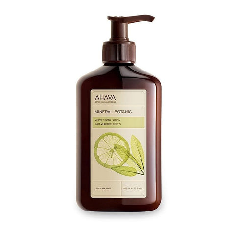 Ahava Mineral Botanic Lemon & Sage Velvet Body Lotion, Lemon & Sage