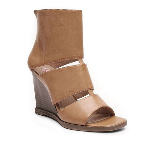 2 Lips Too Too Tai Women's Wedge Sandals Girl's Lt Brown