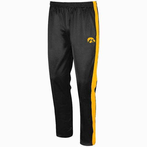 Big & Tall Campus Heritage Iowa Hawkeyes Rage Tricot Pants Men's Iwa Black
