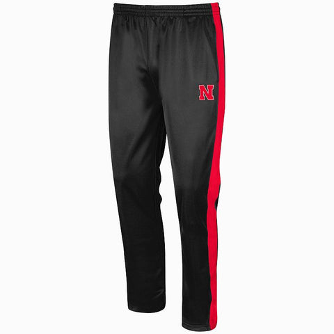 Big & Tall Campus Heritage Nebraska Cornhuskers Rage Tricot Pants Men's Neb Black