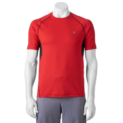 Big & Tall FILA Sport® Abstract Training Top Men's Red