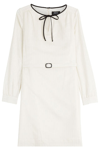 A.P.C. Belted Dress - beige