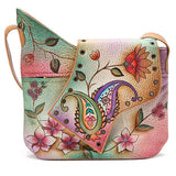 Anuschka Large Abstract Flap Bag -Women's