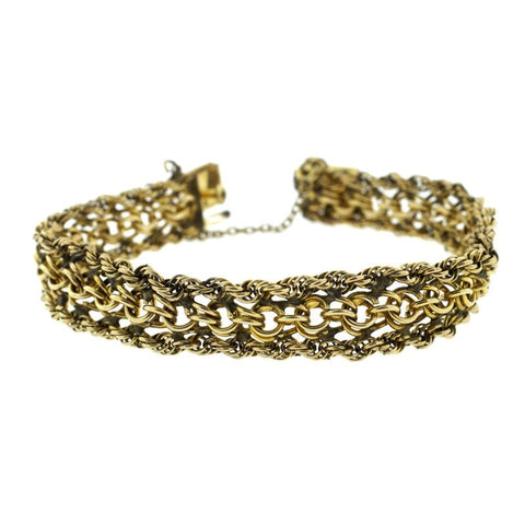"""12K Gold Filled Bracelet"" - SprintShopping"