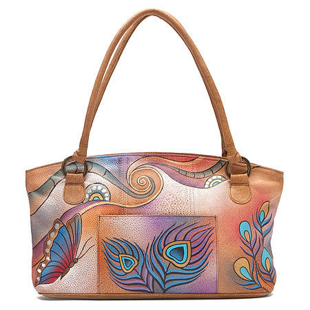 Anuschka Wide Tote Anna Collection -Women's