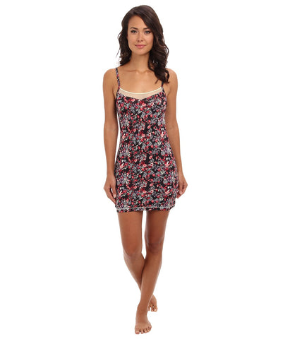 BCBGeneration - Cara The Comfy Chemise (Twilight Floral) Women's Pajama