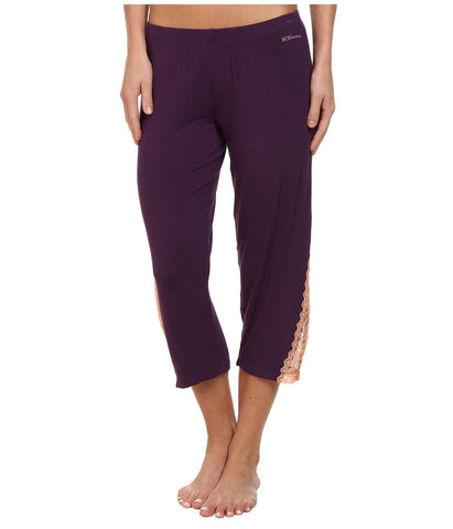 BCBGeneration - Chloe The Cool As A Cucumber Capri (Purple Pennant) Women's Pajama