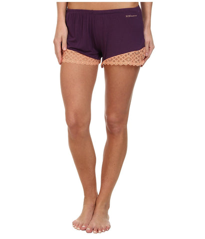 BCBGeneration - Chloe The Sleep When You're Dead Short (Purple Pennant) Women's Pajama