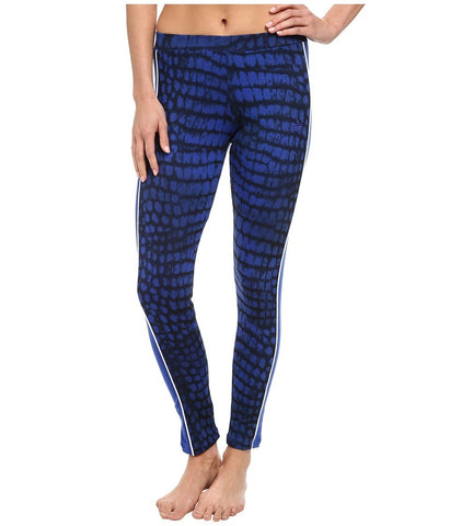 adidas Originals - City NY Legging (Bold Blue/Black/White) Women's Workout