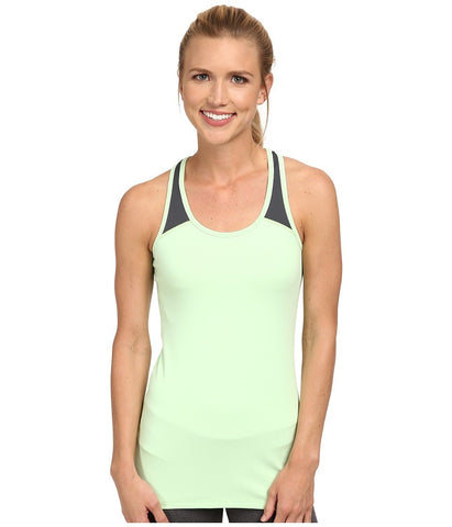2XU - Essential Racer Tank (Honeydew/Charcoal) Women's Workout