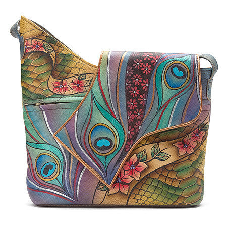 Anuschka Abstract Flap Bag -Women's