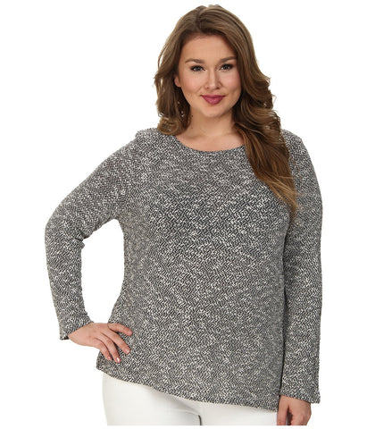 BB Dakota - Plus Size Kae Knit (Black) Women's Sweater