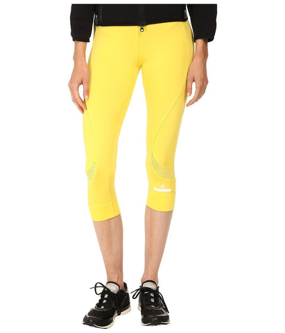 adidas by Stella McCartney - Running 3/4 Tight S17730 (Glow Yellow) Women's Workout