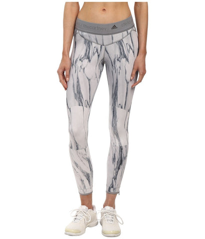 adidas by Stella McCartney - Running Print Tight S16091 (Ice Grey/Multicolor) Women's Workout
