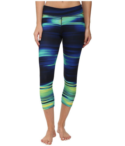 adidas - Ultimate 3/4 Tights - Illumniated Energy (Multicolor Print/Black) Women's Workout