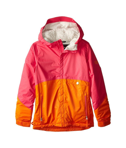 686 Kids - Wendy Insulated Jacket (Big Kids) (Coral Colorblock) Girl's Coat