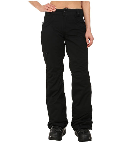 686 - Authentic Patron Insulated Pants (Black Herringbone) Women's Casual Pants