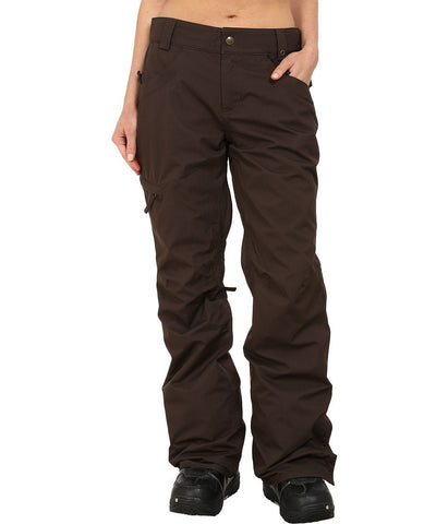 686 - Authentic Patron Insulated Pants (Coffee Herringbone) Women's Casual Pants