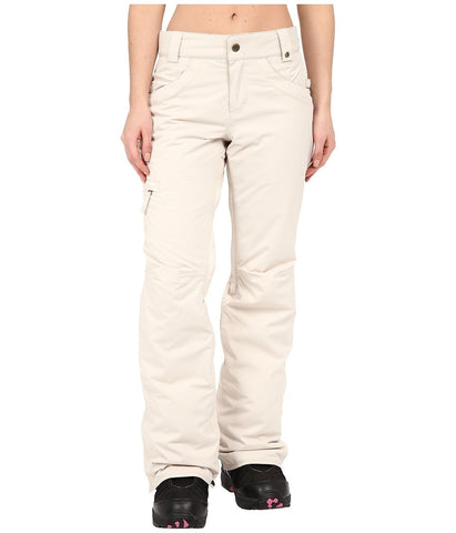 686 - Authentic Patron Insulated Pants (Ivory Herringbone) Women's Casual Pants