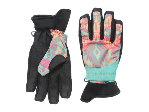 686 - Rhythm Pipe Glove (Grey Deco) Extreme Cold Weather Gloves