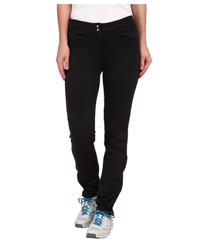 adidas Golf - Advance Quilted Pants (Black) Women's Casual Pants
